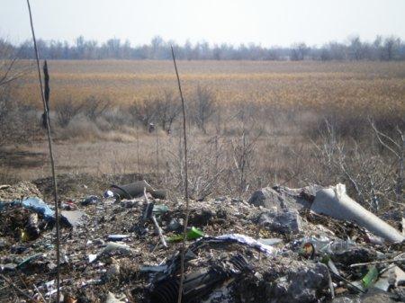 Причорноморські курортні райони Херсонщини складують сміття на незаконних полігонах