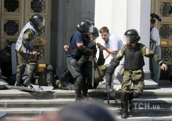 Военнослужащий погибший от ранения полученного под стенами Верховной Рады- херсонец