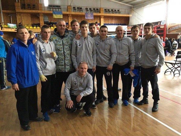 Херсонская сборная привезла серебро и бронзу с Чемпионата Украины по боксу