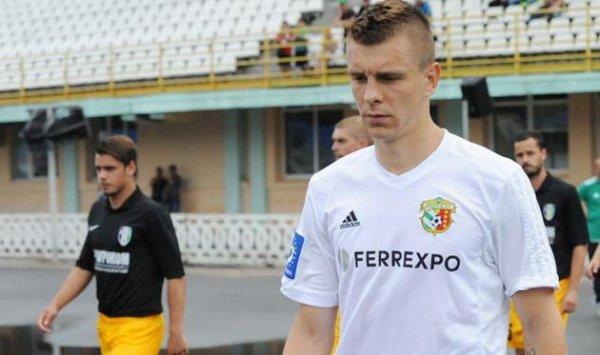 Новокаховчанин Дитятьев стал одним из лучших защитников 16 тура Лиги Пари-Матч