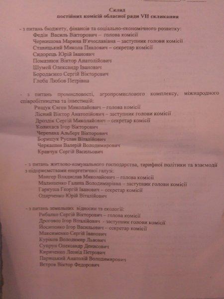 Бюджетную комиссию Херсонского облсовета возглавит Федин