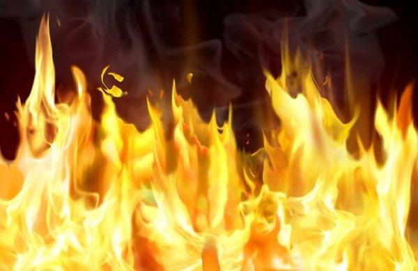 Генические спасатели ликвидировали пожар