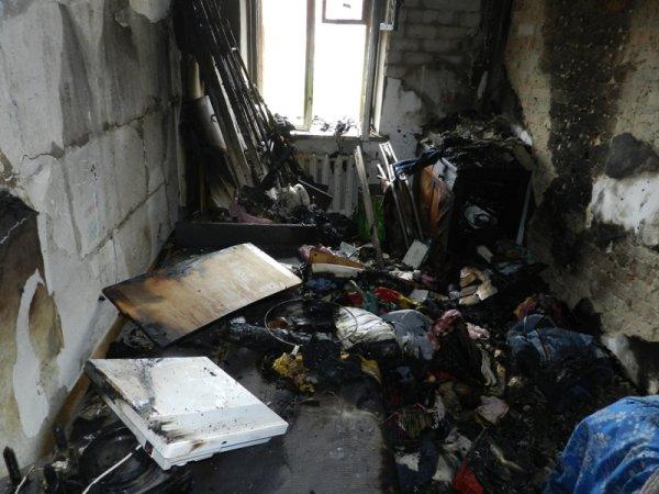 В Херсоні рятувальники ліквідували пожежу