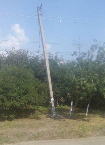 На Херсонщині водій втік з місця ДТП