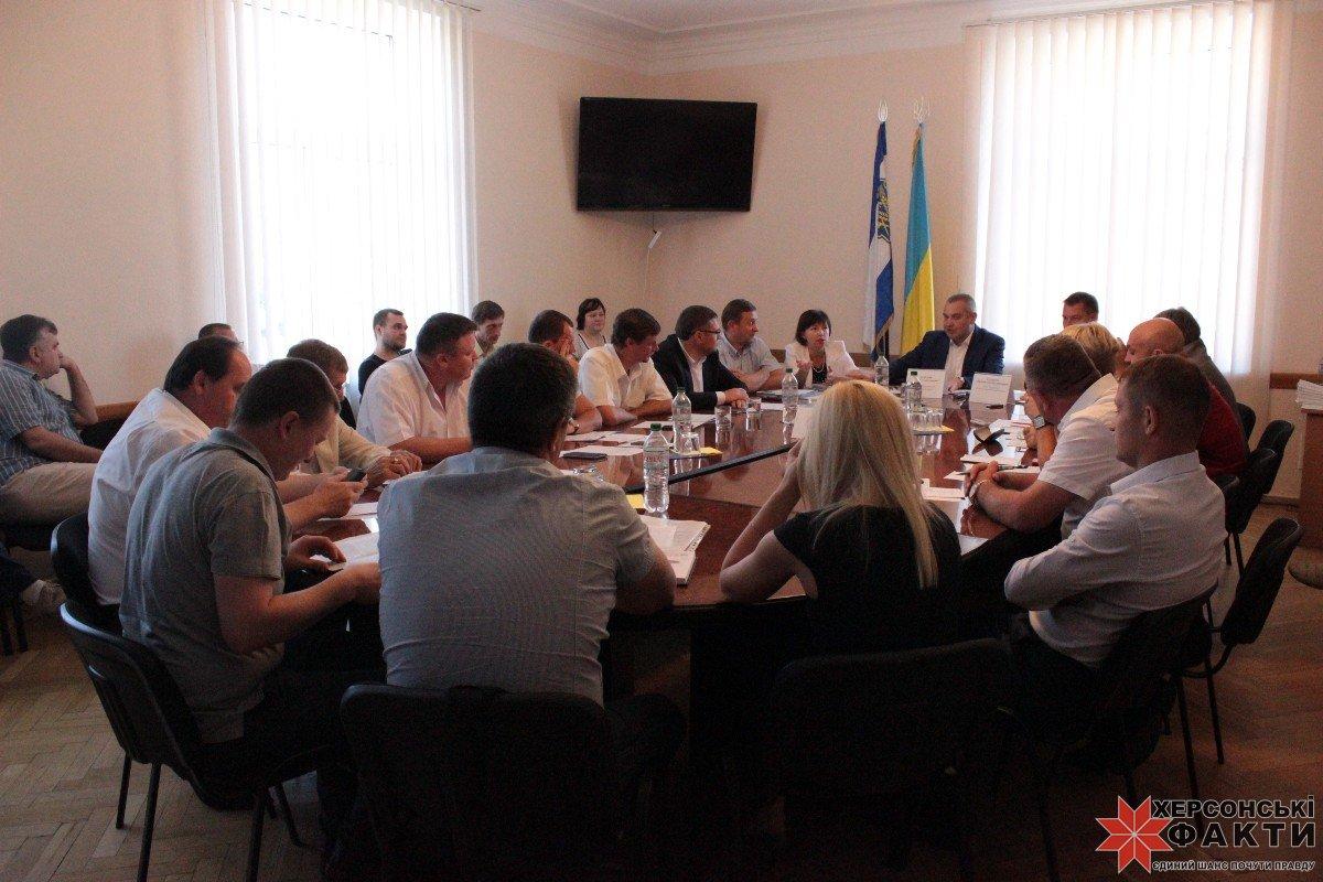 Председатель Херсонского облсовета подал вотставку