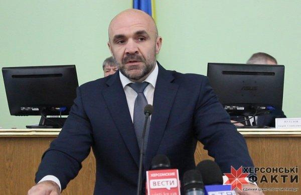 """""""Батькивщина"""" выдвинула Владислава Мангера на должность главы облсовета."""