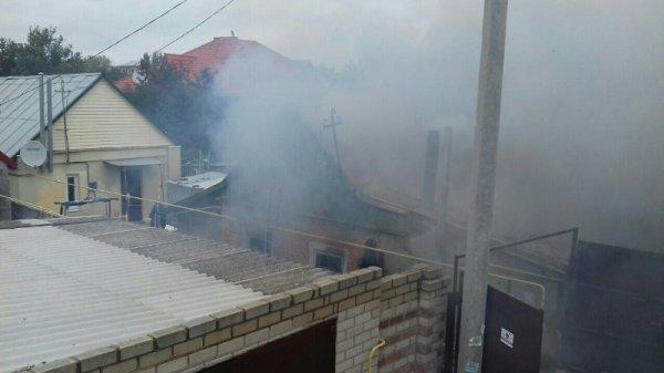 У Херсоні вогнеборці ліквідували пожежу у житловому будинку