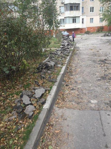 В Херсоне продолжается анархия в сфере ремонта дорог
