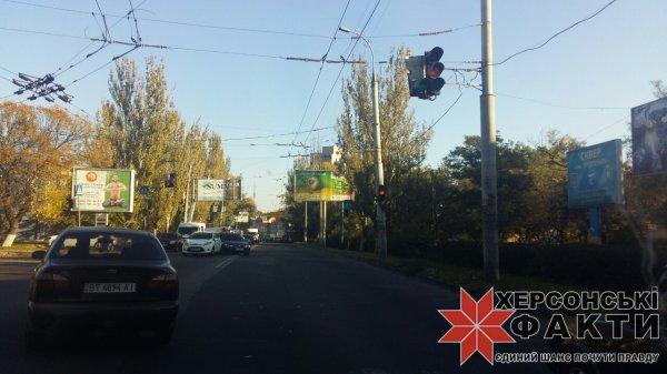 В Херсоне очередное ДТП на Николаевском шоссе