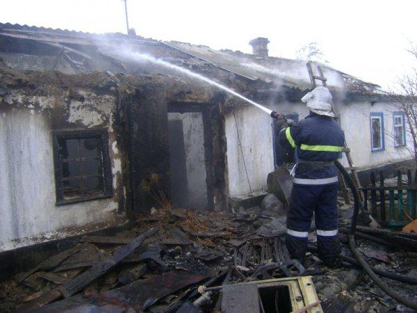 На Херсонщині під час ліквідації пожежі було виявлено двох загиблих осіб