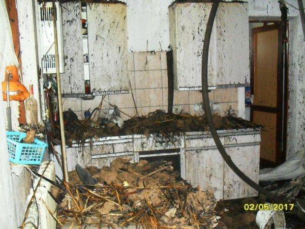 У Херсоні ліквідовано пожежу у житловому будинку
