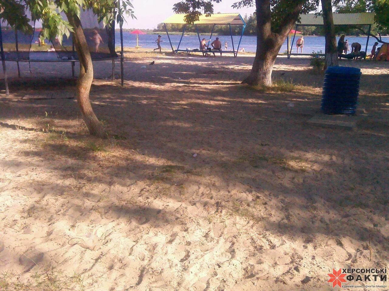 Молодежный пляж в херсоне фото