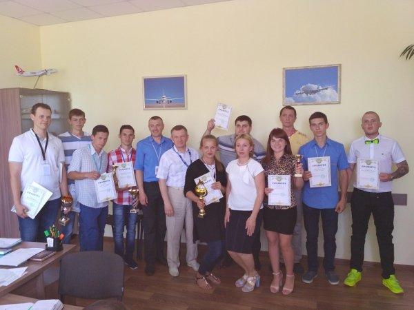 Команда Міжнародного  аеропорту «Херсон» виборола 2 місце на всеукраїнських змаганнях
