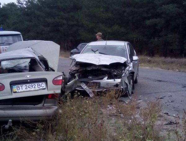 На Херсонщині внаслідок ДТП загинули дві жінки