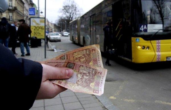 Херсонские маршрутки повезут пассажиров за 4 грн