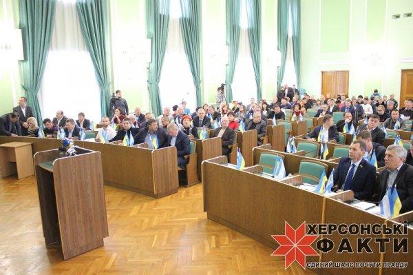 Херсонский облсовет поддерживает сына Натальи Мамренко в его борьбе