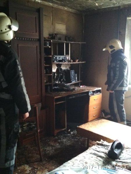 У Херсоні пожежа самоліквідувалася до приїзду рятувальників