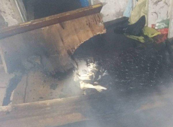На Херсонщині через куріння у нетверезому стані травмувався чоловік
