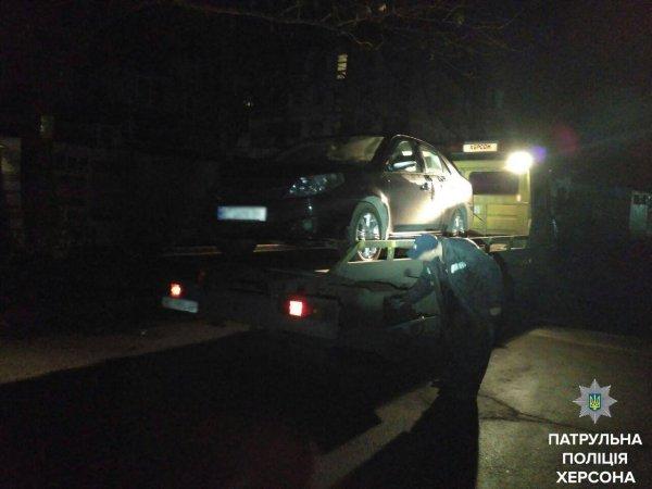 У Херсоні водій напідпитку спричинив ДТП