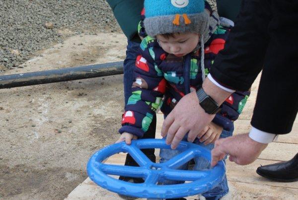 Василь Зеленчук узяв участь в урочистому відкритті водозабору в смт Комишани