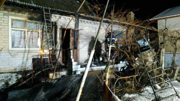 У Херсоні вогнеборці ліквідували пожежу в житловому будинку