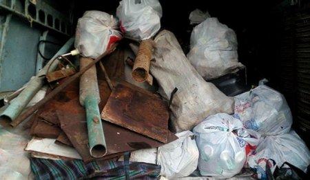 На Херсонщині поліцейські закрили незаконний пункт прийому металобрухту
