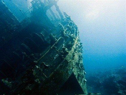 Запрещены подводные экскурсии на затонувших кораблях