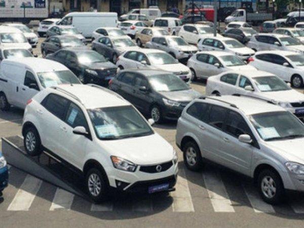 Украинцы в три раза увеличили импорт подержанных автомобилей