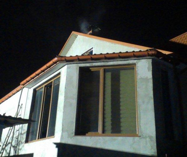 Херсонські вогнеборці ліквідували пожежу в приватному житловому будинку