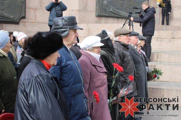 Херсон отмечает годовщину освобождения города от нацистских захватчиков