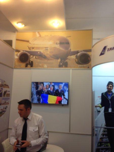 """Руководство аэропорта """"Херсон"""" провело переговоры с румынскими коллегами"""