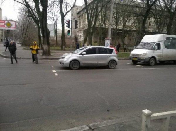 В Херсоне за ДТП оштрафовали водителя маршрутки