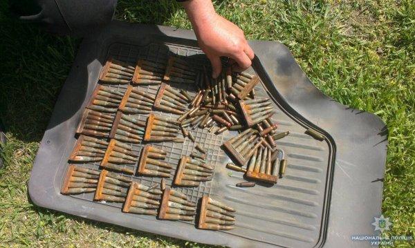 Поліцейські вилучили 205 патронів у жителя Новотроїцького району