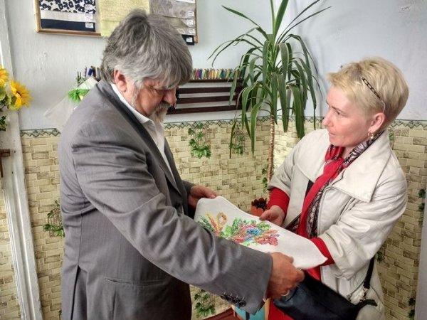 Василь Зеленчук здійснив робочий виїзд до шкіл-інтернатів у Старій Збур'ївці