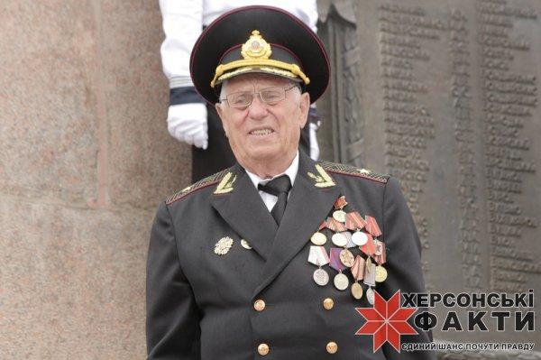 Херсон празднует День победы над нацизмом во Второй мировой войне (фоторепортаж)