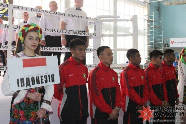 Национальная сборная Индонезии по боксу в Херсоне готовится к чемпионату Азии