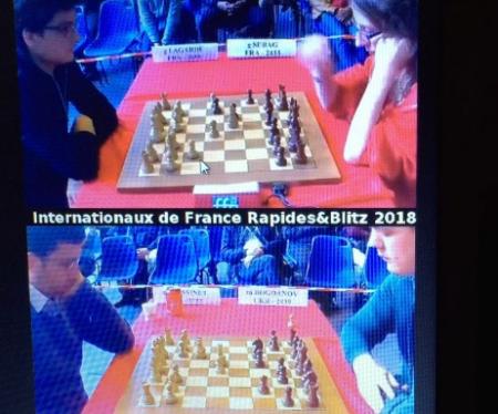 """Украинцы выиграли """"золото"""" и """"бронзу"""" чемпионата Франции по шахматам"""