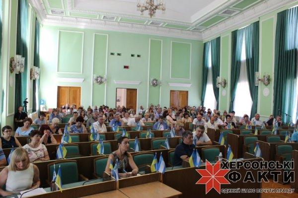 «Мы - не карательный орган, но нужно уважать закон», - глава Херсонского облсовета Владислав Мангер