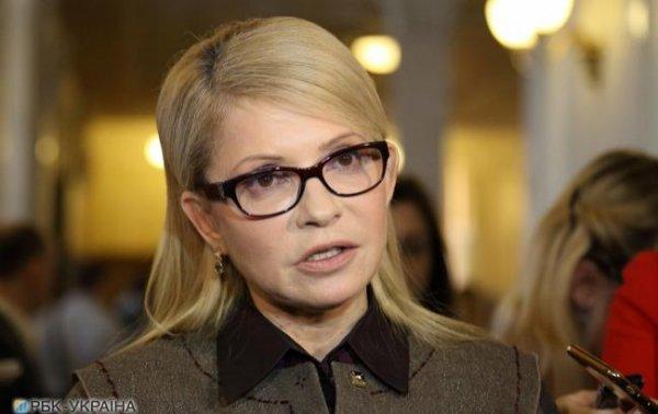 Тимошенко: в Україну повернулися політичні репресії