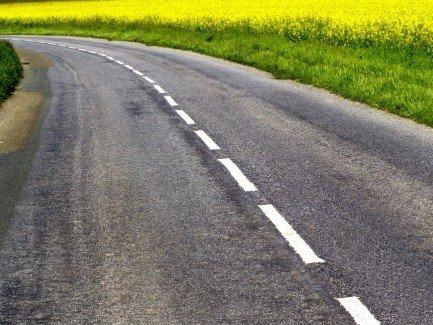 На дорогах может появиться шумовая разметка