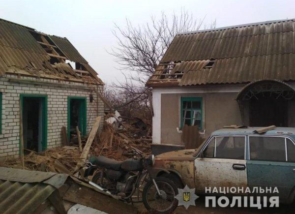 Поліція розслідує обставини вибуху в Олешківському районі