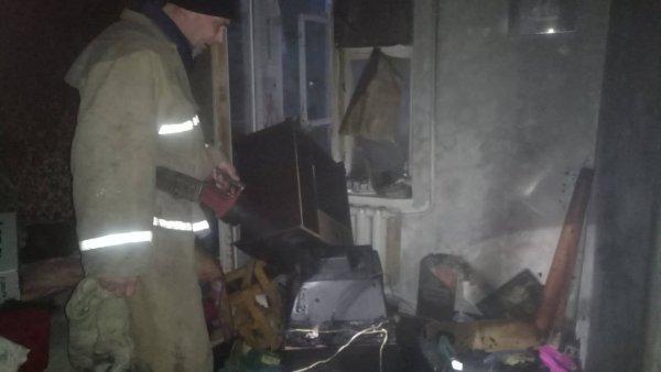 В Олешках під час пожежі в квартирі загинула літня жінка