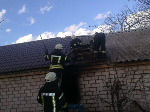 У Херсоні під час ліквідації пожежі в будинку виявлено загиблого господаря