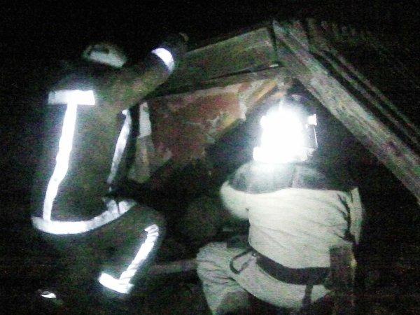 Горностаївські рятувальники ліквідували пожежу літньої кухні