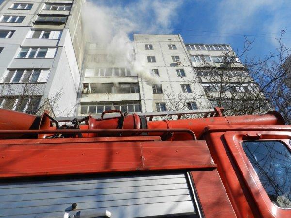 У Херсоні ліквідовано пожежу у квартирі багатоповерхівки