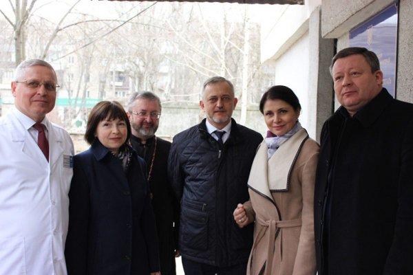 Міністр у справах ветеранів України перебуваючи у Херсоні схвально відгукнулась про діяльність комунальних закладів Херсонської обласної ради