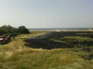 В області за добу двічі горіла суха трава та сміття