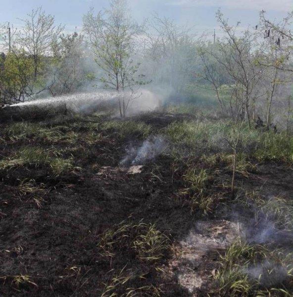 За минулу добу в області чотири рази горіла суха трава