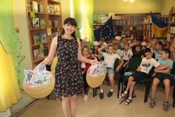 Зустріч з Оленою Горобець в бібліотеці імені Дніпрової Чайки