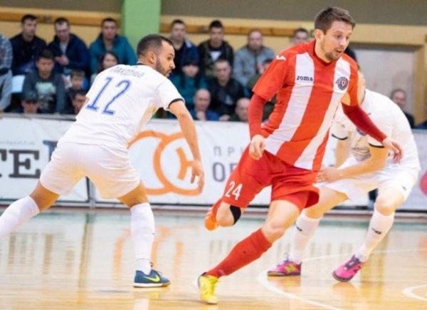 Херсонський «Продексім» утретє поспіль виграв чемпіонат України з футзалу